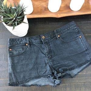 Quicksilver Women's black denim shorts